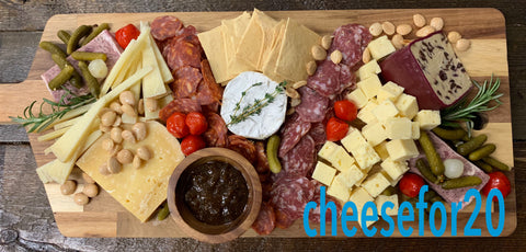 LITTLE CHEESE SHOP BOARD FOR 20 PEOPLE