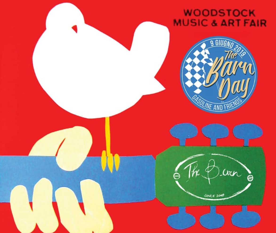 The Barn Day 2019 WOODSTOCK 👉 7-8-9 Giugno