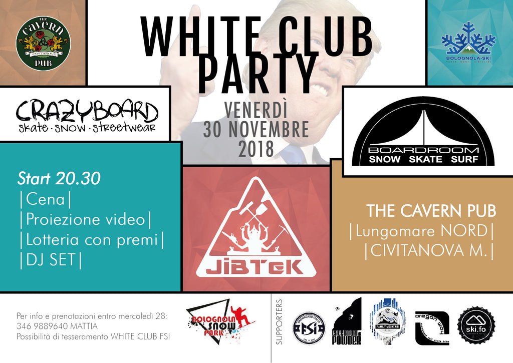 WHITE CLUB PARTY