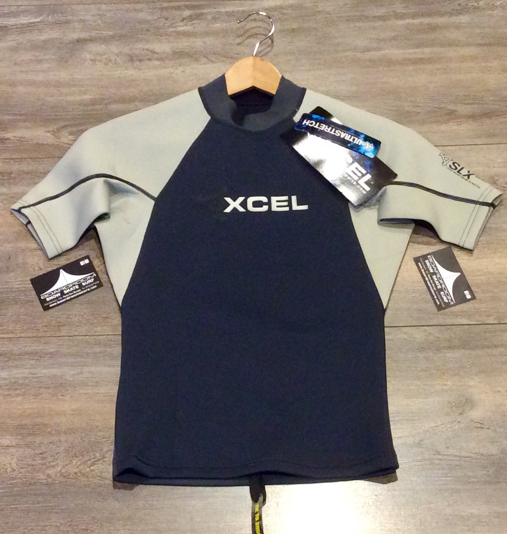 T-Shirt in neoprene XCEL Slx Top 1/5 MM Silver