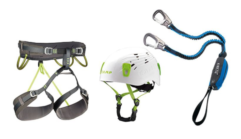 CAMP Kit Ferrata Kinetic Rewind Energy CR 4
