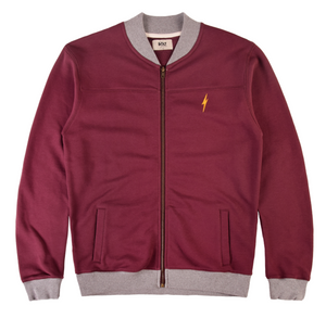 LIGHTNING BOLT PURE FLEECE BOMBER