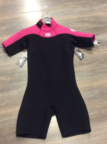 Muta da surf Junior RIPCURL Girl Freelite Spring 2 MM Black/Pink