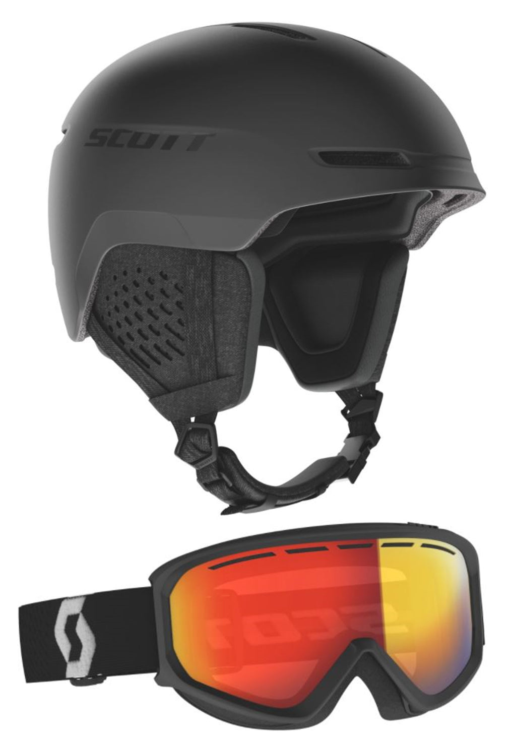 Casco SKI-SNOW SCOTT Track + Maschera Fact