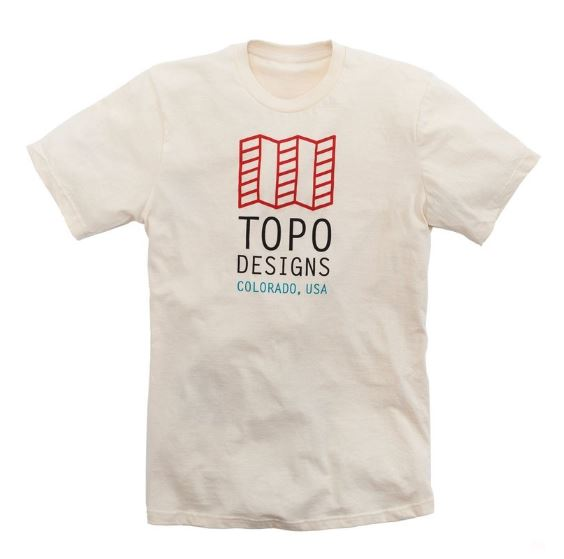 T-shirt TOPO DESIGNS Original Logo