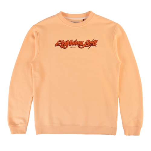 LIGHTNING BOLT SCRIPT FLEECE CREW