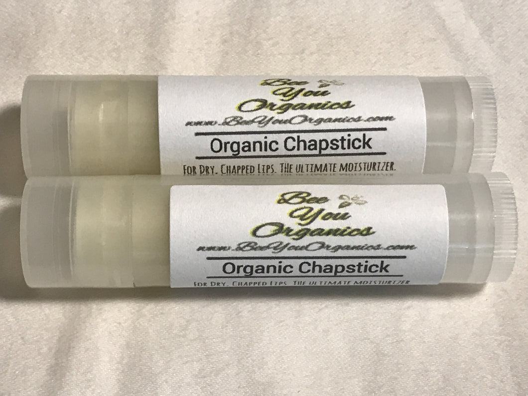 Organic Chapstick ~ The Ultimate Moisturizer for Dry, Chapped Lips