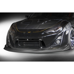 VARIS - WIDEBODY - FRS/ BRZ / GT86 - FRONT BUMPER w/ CARBON LIP