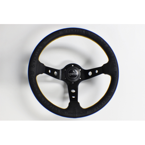 "VERTEX - ""KING"" 330mm STEERING WHEEL"