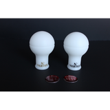 VERTEX - MONOCHROME SHIFT KNOB - WHITE