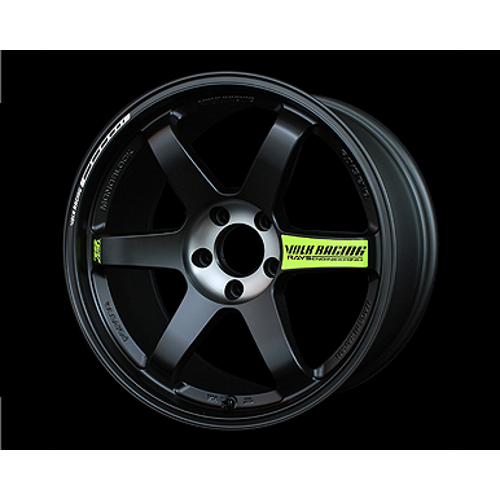 "VOLK RACING - TE37 SL BLACK EDTION II 18""x10.5"""