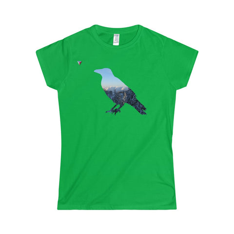 Mountain Raven Softstyle Women's T-Shirt