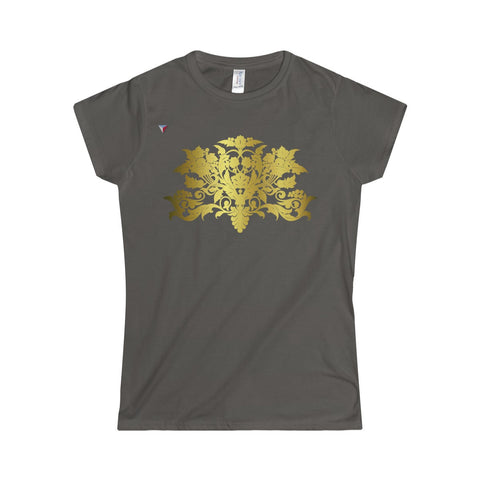 Gold Baroque Softstyle Women's T-Shirt