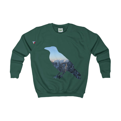Mountain Raven Kids AWDis Sweat