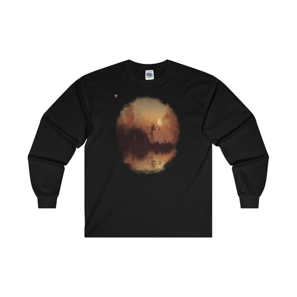 Japanese Sundown Ultra Cotton Long Sleeve T-Shirt