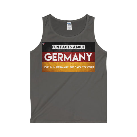 Germany Fun Facts Tank Top