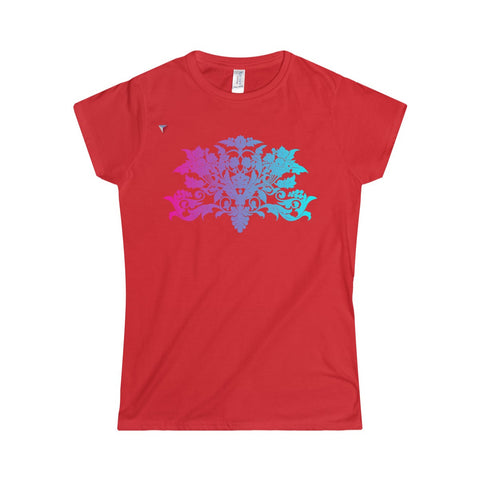 Colorful Baroque Softstyle Women's T-Shirt