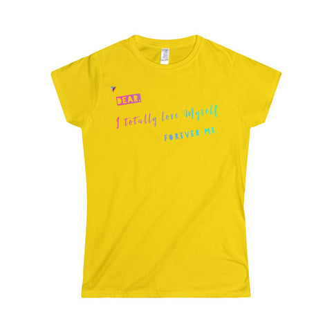 Love Myself Softstyle Women's T-Shirt