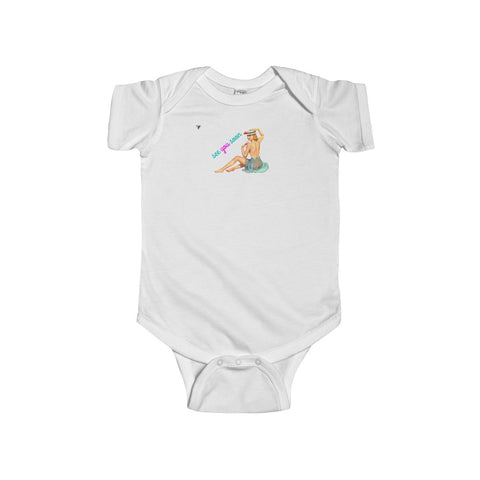 See You Soon Pin Up Infant Fine Jersey Bodysuit