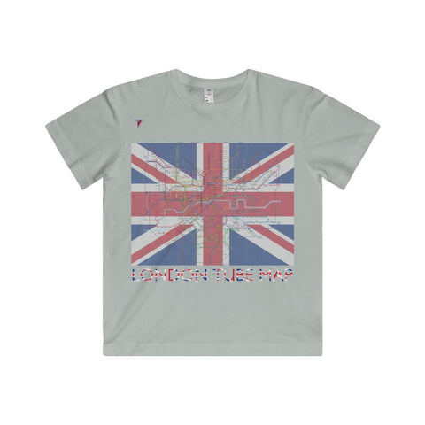 London Tube Map Youth Fine Jersey Tee