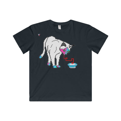 Pixel Cat Youth Fine Jersey Tee