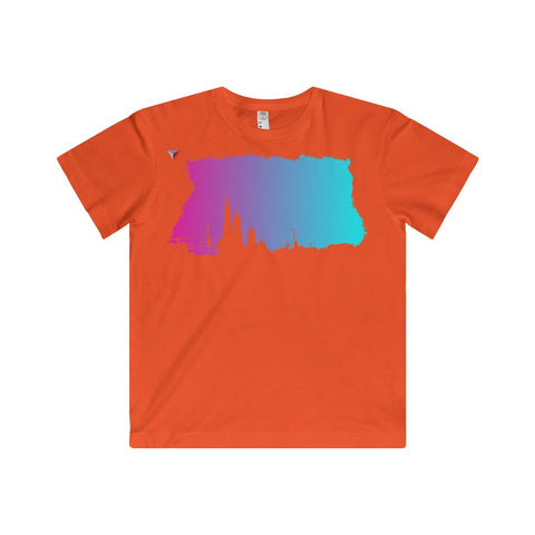 Neon Skyline Youth Fine Jersey Tee