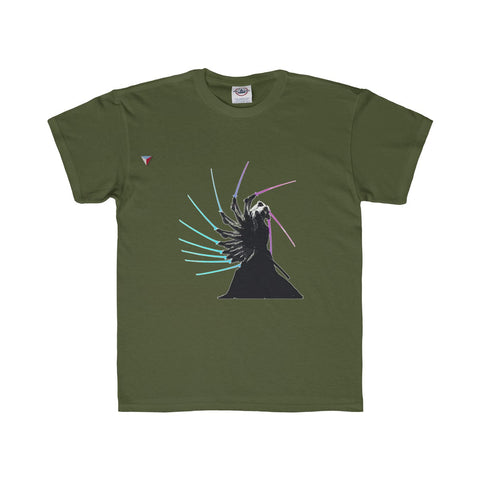 Japanese Samurai Katana Practice Youth Regular Fit Tee