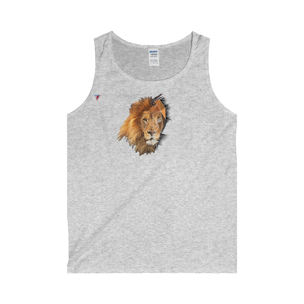 Lion Polygon - Adult Tank Top