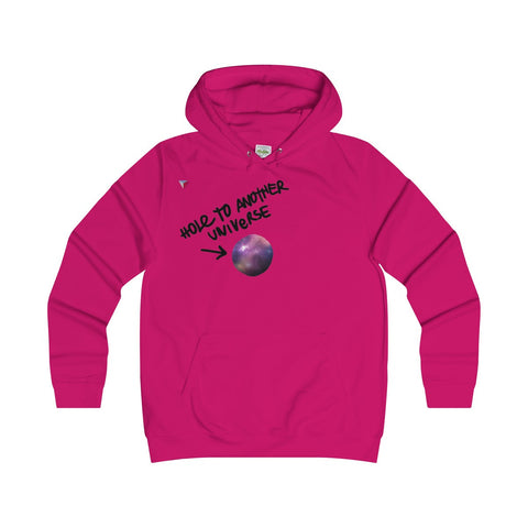 Hole To Another Universe Girlie Hoodie