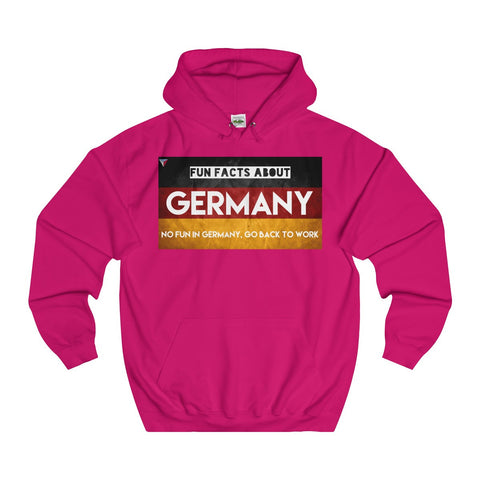 Germany Fun Facts Hoodie