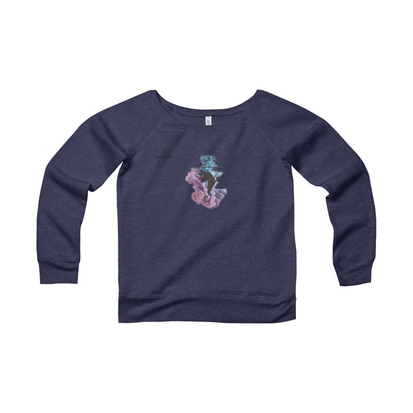 The Unicorn - Women's Sponge Fleece Wide Neck Sweatshirt