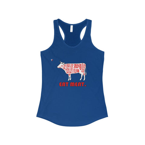 Eat Meat The Ideal Racerback Tank