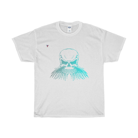 Neon Skull Heavy Cotton T-Shirt