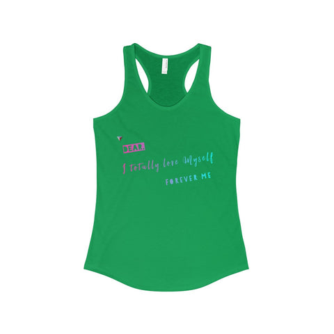 Love Myself The Ideal Racerback Tank