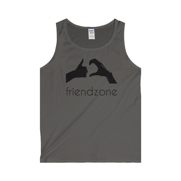 Friendzone Black Tank Top