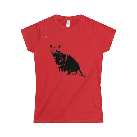 Black Cat Softstyle Women's T-Shirt