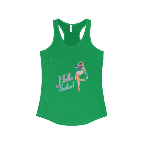 Hello Sailor! The Ideal Racerback Tank