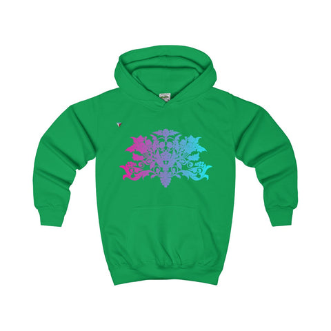 Colorful Baroque Kids Hoodie
