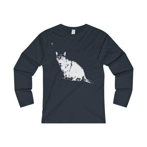 White Cat Ladies' Long Sleeve T-Shirt