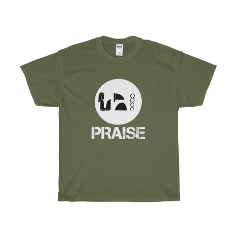 Praise Kek White Heavy Cotton T-Shirt