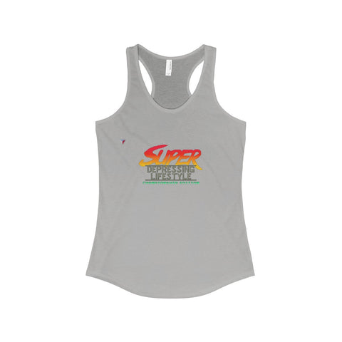 Depressing Lifestyle The Ideal Racerback Tank