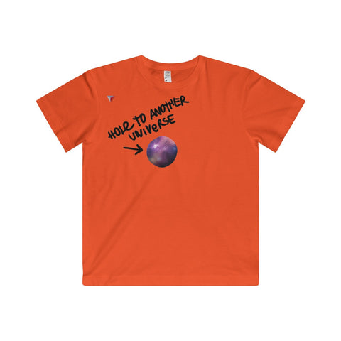 Hole To Another Universe Youth Fine Jersey Tee