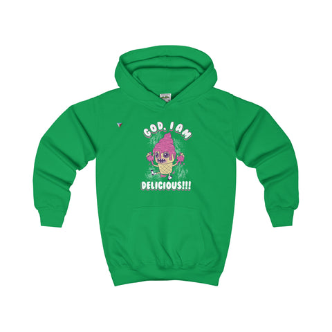 God I'm Delicious Ice-Cream - Kids Hoodie