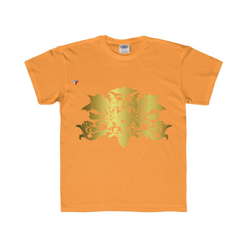 Gold Baroque Youth Regular Fit Tee