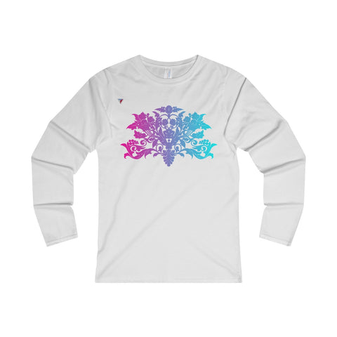 Colorful Baroque Ladies' Long Sleeve T-Shirt