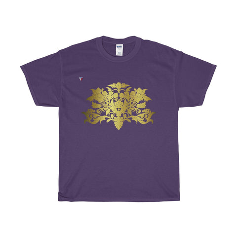 Gold Baroque Heavy Cotton T-Shirt