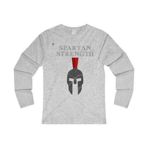 Spartan Strength Grey Gym Ladies' Long Sleeve T-Shirt