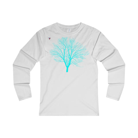 Cyan Tree - Ladies' Long Sleeve T-Shirt