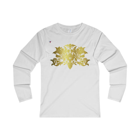 Gold Baroque Ladies' Long Sleeve T-Shirt