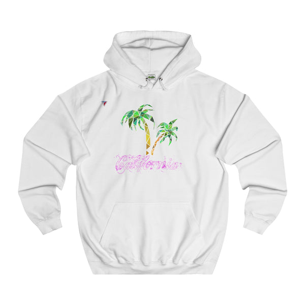 California Palm Tree - College Hoodie